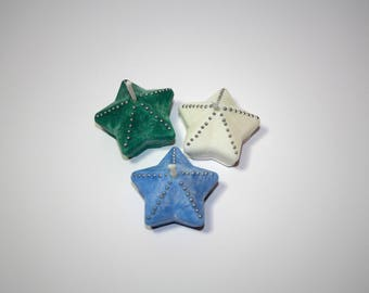 Star Tea Lights (10 Candles) | Christmas Candles | Yule Candles | Holiday Decorations