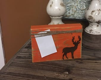 Rustic Chunky Deer Picture Frame