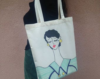 "Art Tote Bag ""Mourners, 2"""