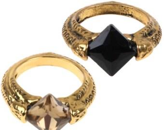 Harry Potter Deathly Hallows Resurrection Stone Marvolo Gaunt's Ring