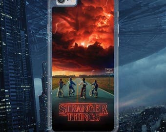 Stranger Things American TV Series Bicycles Night Sky Cool Hard Plastic Phone Case Cover For iPhone & Samsung Models Tracked Fast Postage