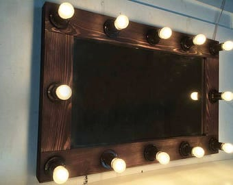 Hollywood vanity mirror, Mirror with lights, Makeup mirror, Mirror with