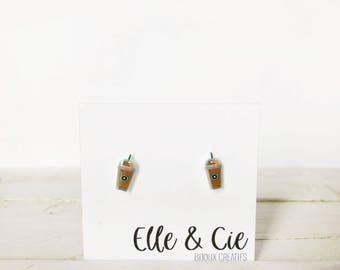 Starbucks style earrings
