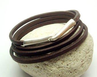 Wrap Bracelet * 4 ~ Stainless Steel