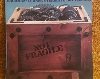 Vinyl: Bachman–Turner Overdrive, Not Fragile, Free Shipping