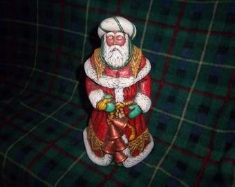 Hand Painted Ceramic Santa
