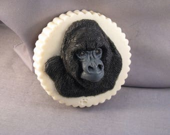 Gorilla-hand carved bar soap