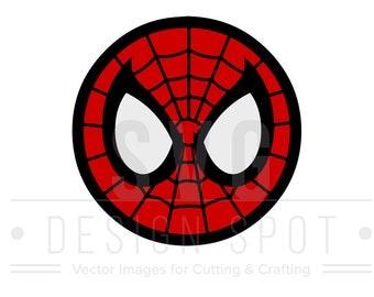 Spiderman SVG, Dxf, Eps, Png - Super Hero SVG Files, Marvel Vector Graphic, Spiderman SVG File, Instant Download