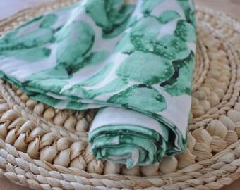 Chiffon - swaddle blanket Muslin swaddling blanket