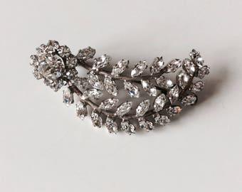Fancy rhinestone brooch