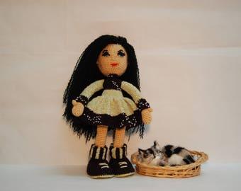 Handmade crochet doll, Amigurumi doll, Doll, Handmade doll