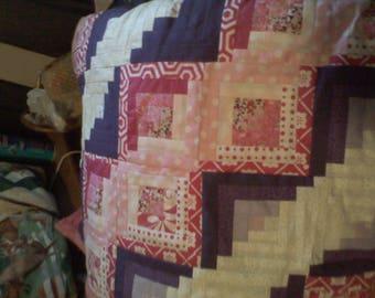 Baby Girl's Crib Quilt