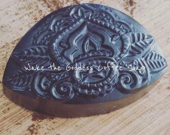 Wake the Goddess Coffee Scrub Soap