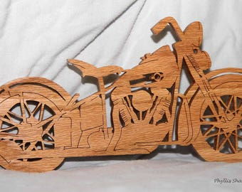 Scroll saw motorcycle