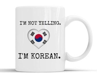 Korean funny mug,Korean coffee mug,Korean jokes,Korean friend,Korean pride,Korean quotes,Korean origin,Korean student,from Korea