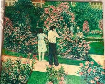 Vintage Original Boston's Rose Garden