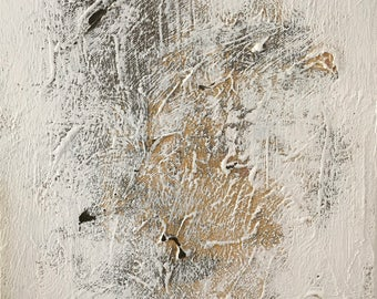 White 7 - Abstract painting, acrylic on canvas, white textured, original painting, painting on canvas, wall art, contemporary painting