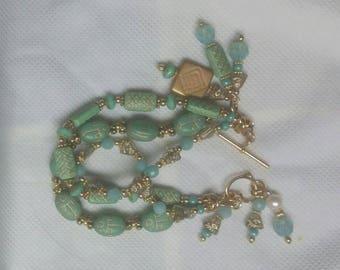 Inca Style Beaded Bracelet