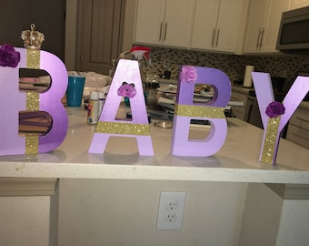 Custom Baby Letters