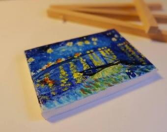 Starry Night on the Rhone, V. Van Gogh
