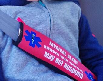 Car Seat Belt Cover Autism