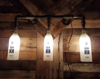 Whiskey bottle light
