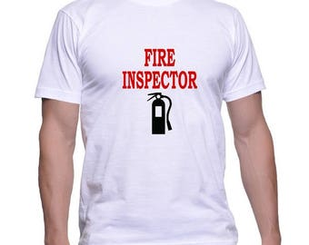Tshirt for a Fire Inspector