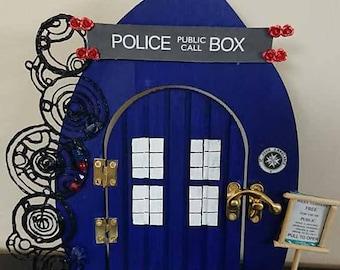 Doctor Who Tardis Fairy Door