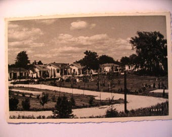 Postcard of: Herrick's Sunken Gardens Along Lincoln Highway East of Gettysburg PA