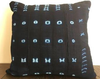 Indigo Pillow Cover 14 x 14 in.