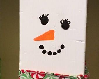 Adorable snowlady!