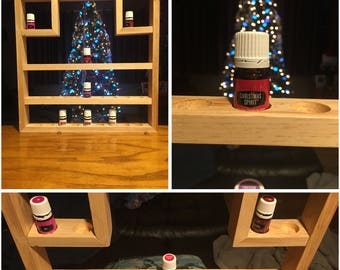 Shelf to hold 31 bottles of Essential Oils