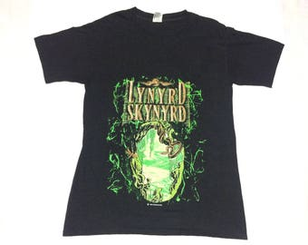 Vintage 90's Lynyrd Skynyrd World Tour T Shirt