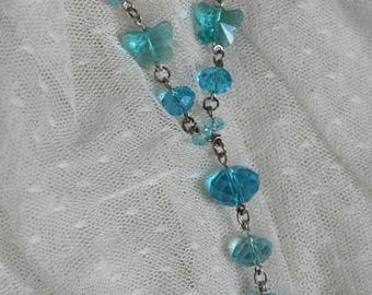 """Necklace """"Blue srping"""""""
