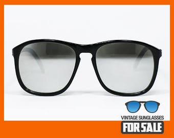 Vintage sunglasses Lozza COOPER MIRRORED original made in Italy 1981.