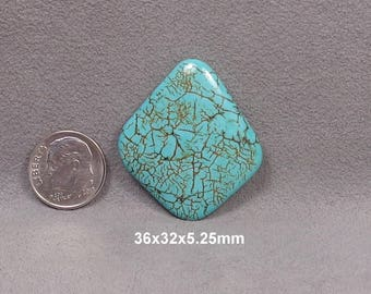 Dyed Magnesite Cabochon