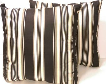 Vienna Stripe Pillow and Cover