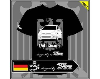 T-shirt Volkswagen Golf R 5-door MK6 (Typ 5K)