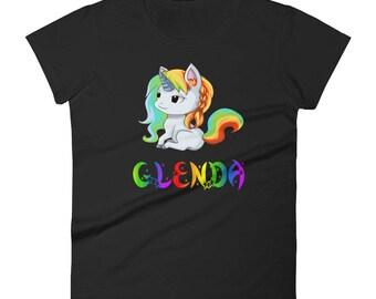 Glenda Unicorn Ladies T-Shirt