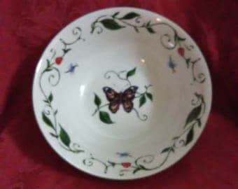 Vintage Butterfly bowl.