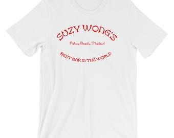 Suzy Wongs Patong Thailand Themed Short-Sleeve Unisex T-Shirt