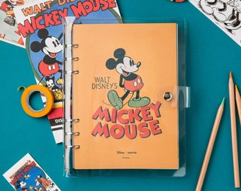 Disney Planner / diary / note / line note / scheduler / calendar / 2018 diary / planner / disney / mickey