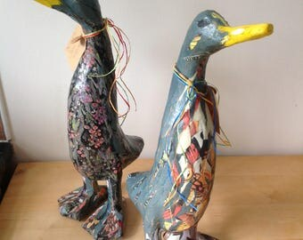 Duck sculpture