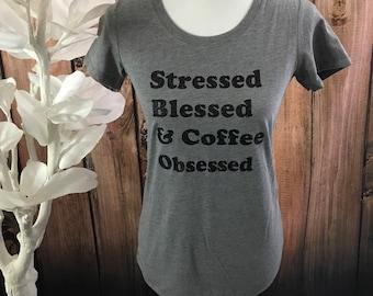 Coffee Obsessed Size Medium