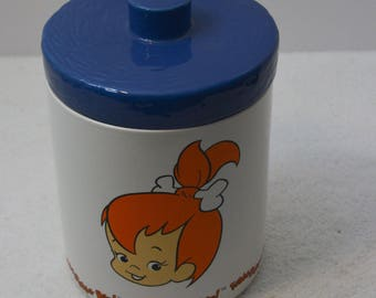 Flinstones Pebbles Ceramic Cookie Jar