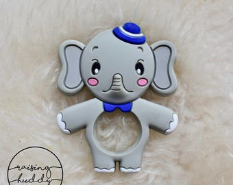 Elephant Teether | Silicone | Sensory | Teething | Baby