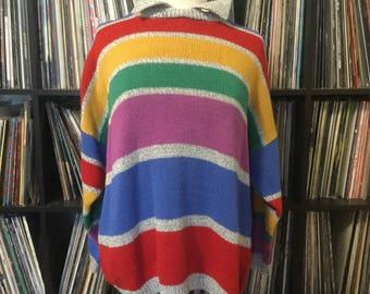 Vintage Rainbow Sweater