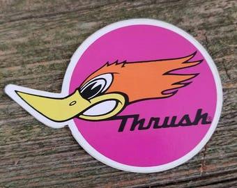 Thrush Muffler Sticker