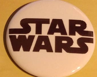 Star Wars Logo 2.25 Inch Wearable Button