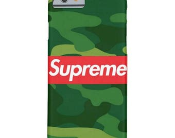 camo SUPREME iphone case, iphone 5 5s 5c case, iphone 6 6s, 6 plus case iphone 7, 7 plus case, iphone X iphone 8 8 plus case samsung supreme
